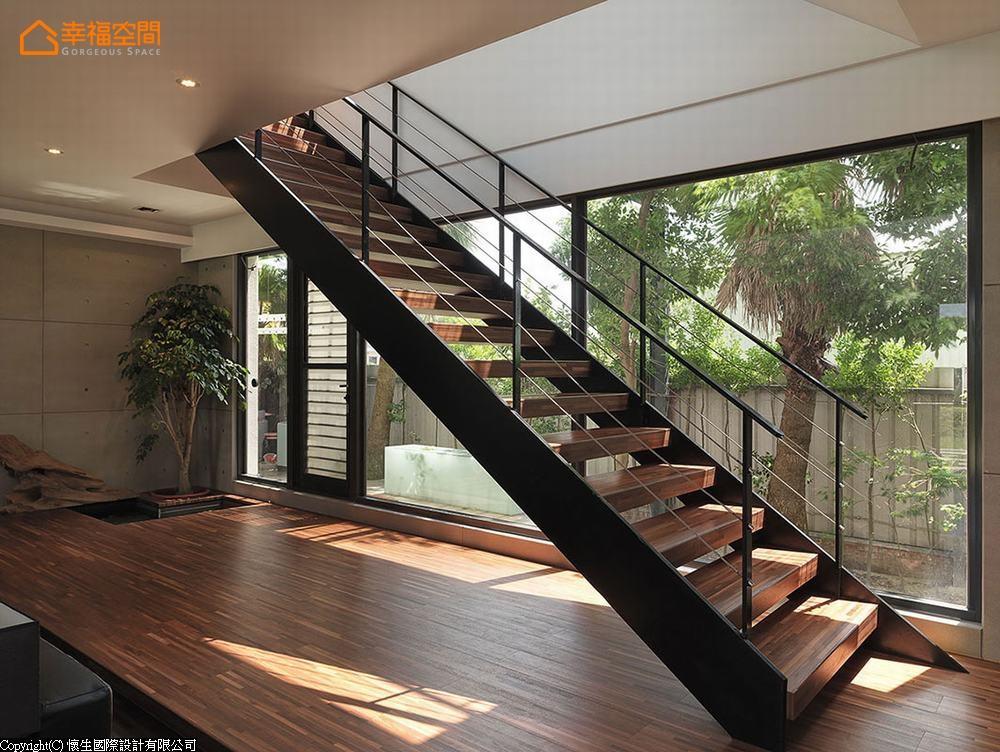 简约 休闲风格 别墅 楼梯图片来自幸福空间在天天像渡假! 330平日光Villa宅的分享