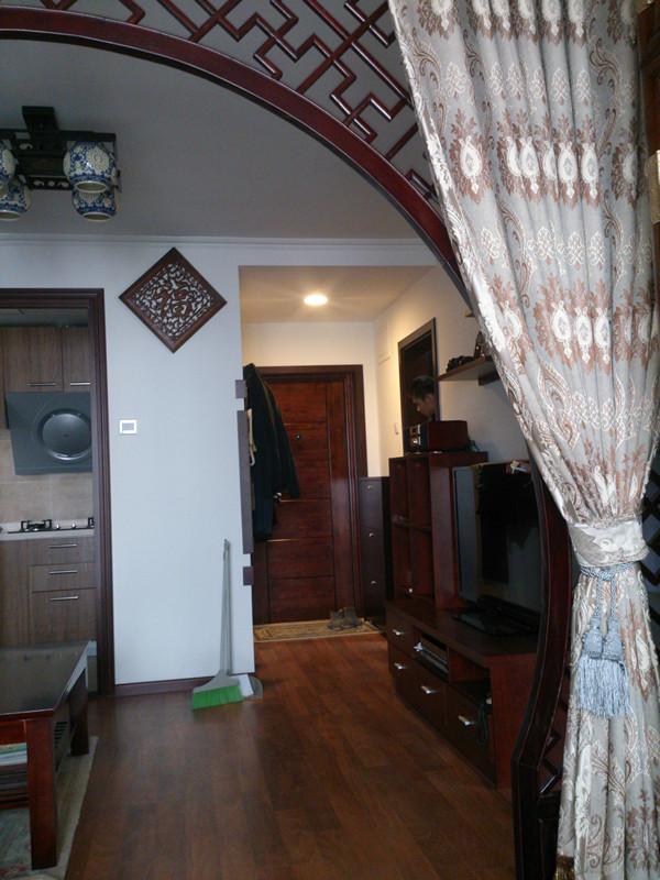 中式风格 实创装饰 2居室装修 老房子翻新 客厅图片来自北京实创装饰在老房子翻新实景案例展示中式风格的分享