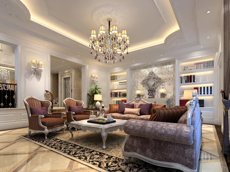 欧式 别墅 豪华 品质 客厅图片来自孙进进在独栋别墅豪华欧式精美品质生活的分享