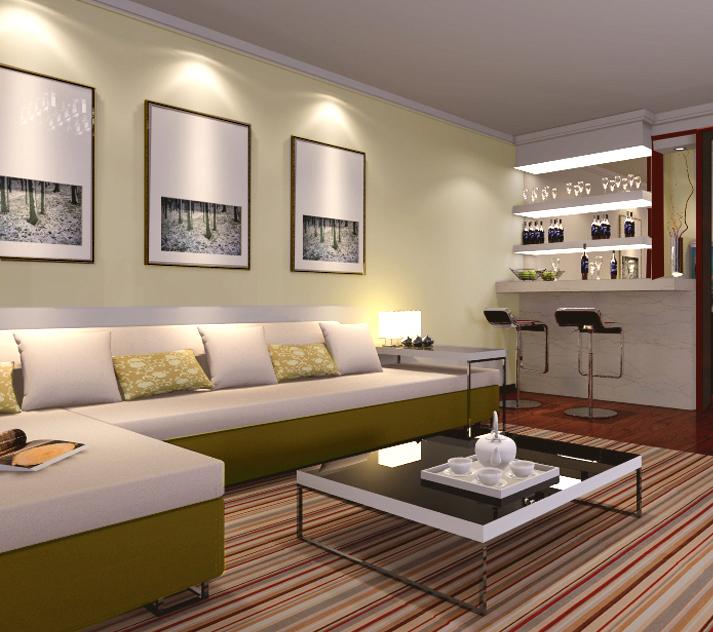 简约 二居 小资 80后 客厅图片来自贾凤娇在93平的温馨的分享