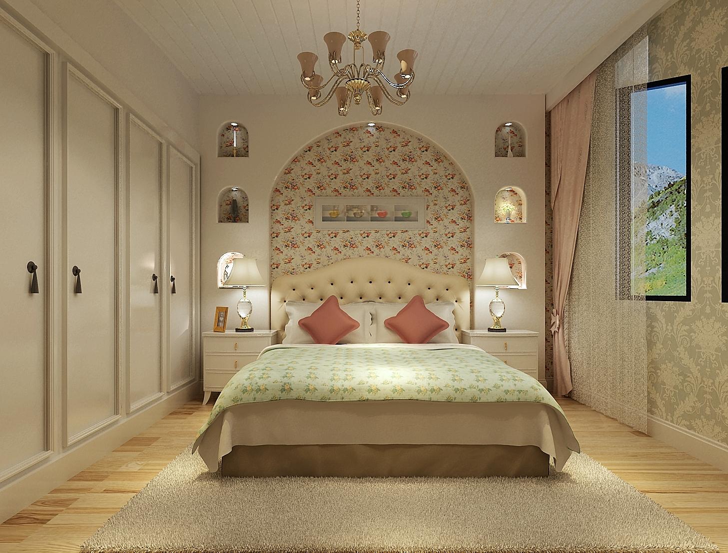 欧式 卧室图片来自159xxxx8729在银基王朝130平浪漫欧式的分享