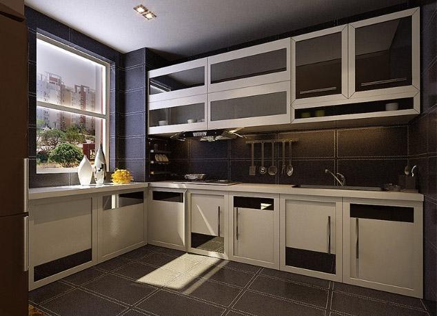 厨房图片来自亚光亚装饰在严谨的态度整洁的家的分享
