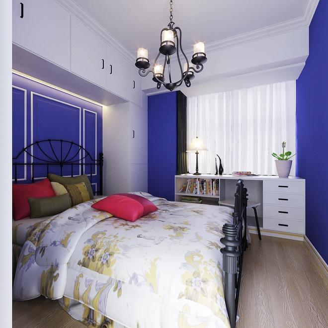"""欧式 简约 典雅 卧室图片来自太原香港豪装在""""形神""""的分享"""
