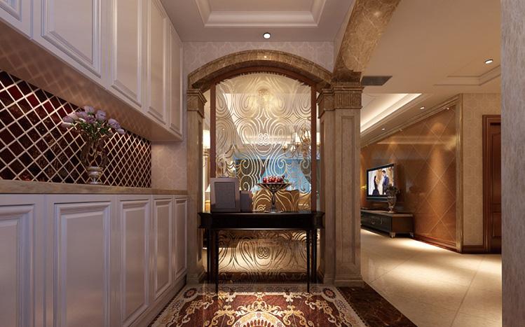 简约 欧式 三居 别墅 白领 收纳 80后 小资 玄关图片来自实创装饰百灵在现代醉西风125平米三居室的分享