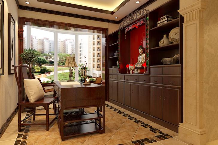欧式 三居 卧室 厨房 餐厅 80后 小资图片来自石家庄业之峰装饰在祥云国际228平米新古典装修风格的分享