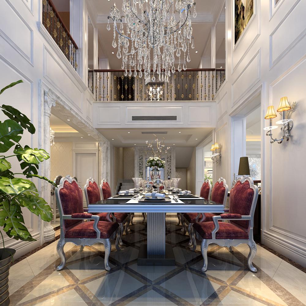 欧式 别墅 豪华 品质 餐厅图片来自孙进进在独栋别墅豪华欧式精美品质生活的分享