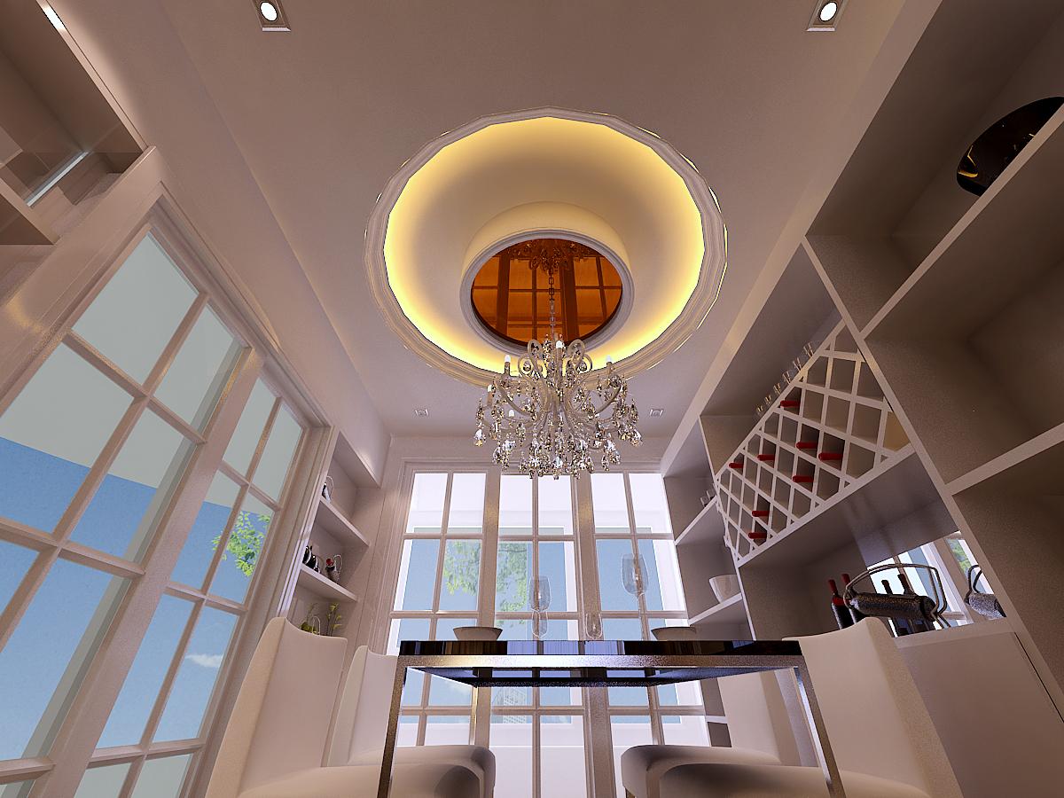 欧式 餐厅图片来自上海华埔装饰设计中心在简约欧式的分享