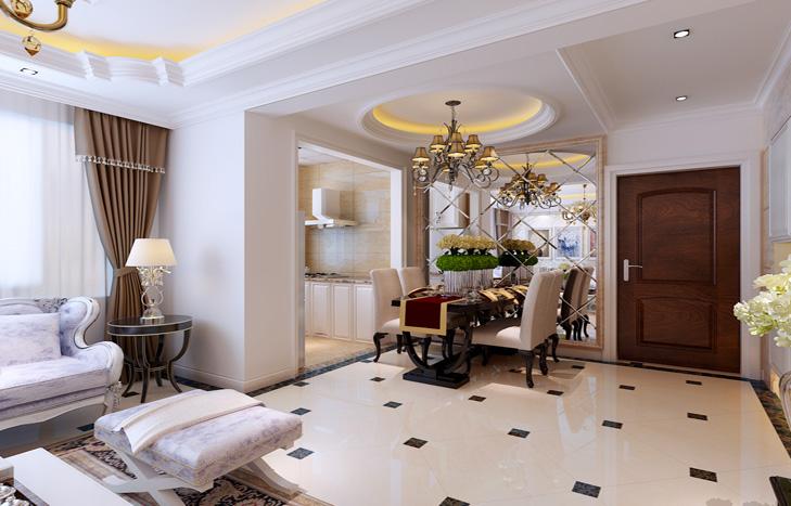 欧式 小资 二居 客厅图片来自贾凤娇在首开·玲珑汇的分享