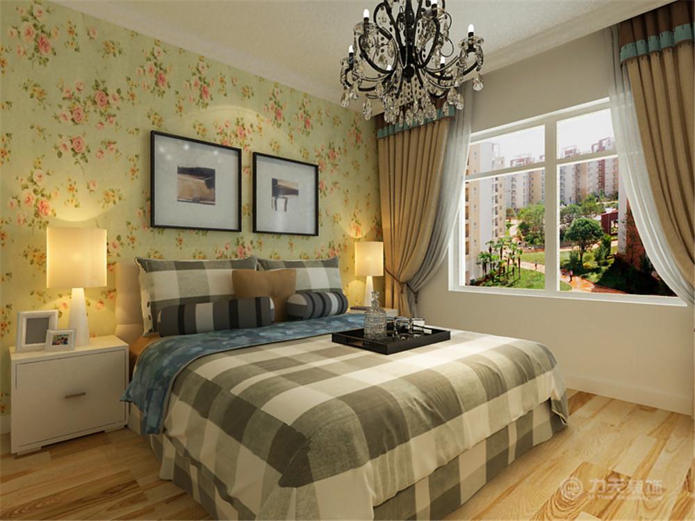 简约 二居 白领 旧房改造 小资 收纳 卧室图片来自阳光力天装饰梦想家更爱家在北宁湾2室2厅98㎡现代简约的分享