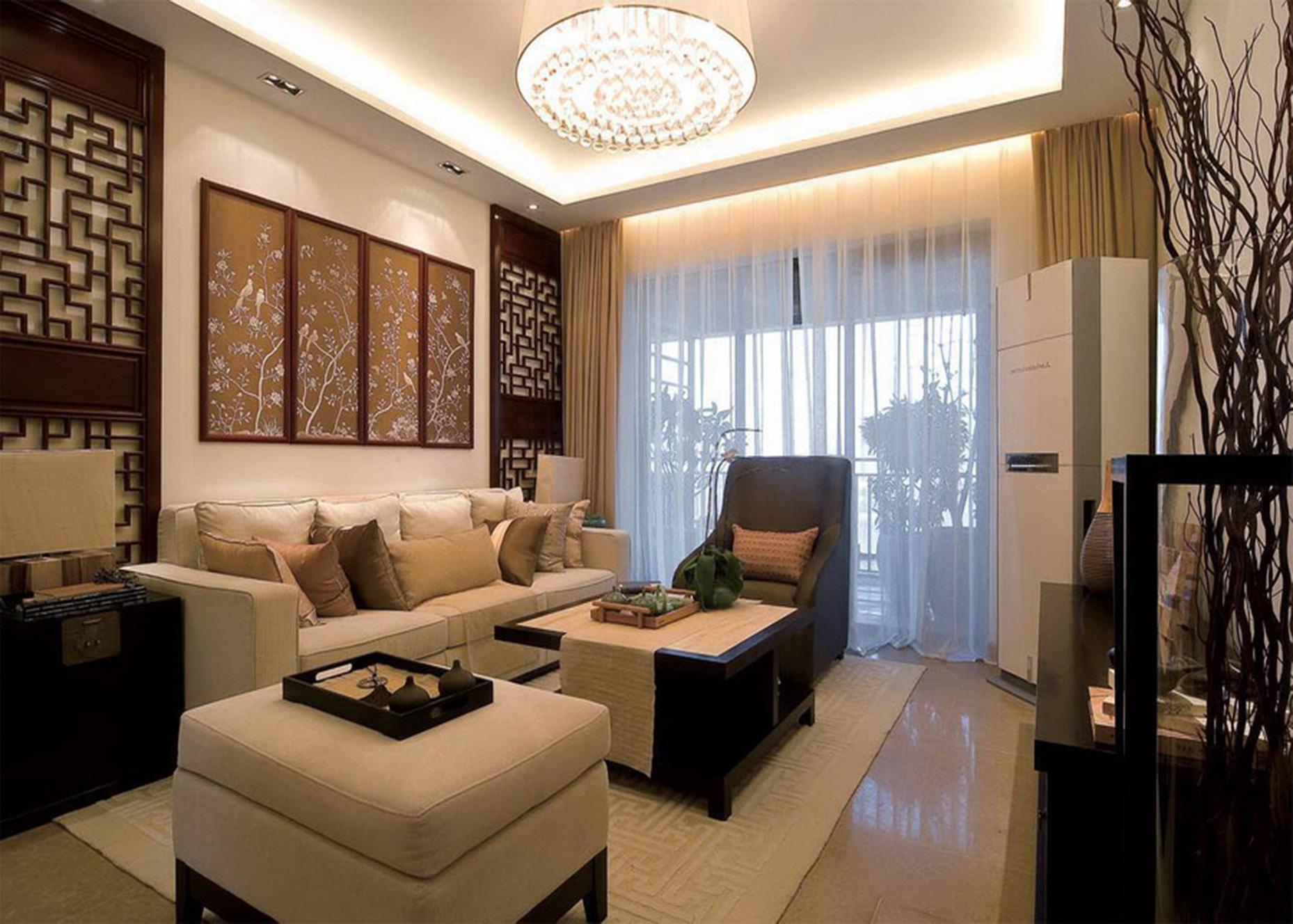 简约 小资 三居 客厅图片来自贾凤娇在自然简朴定制经典中式家居的分享