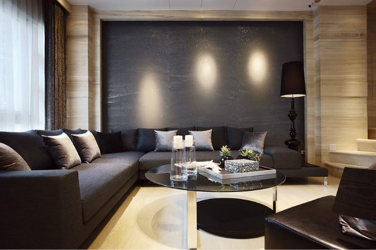 客厅图片来自亚光亚装饰在雍容华贵的现代装饰的分享