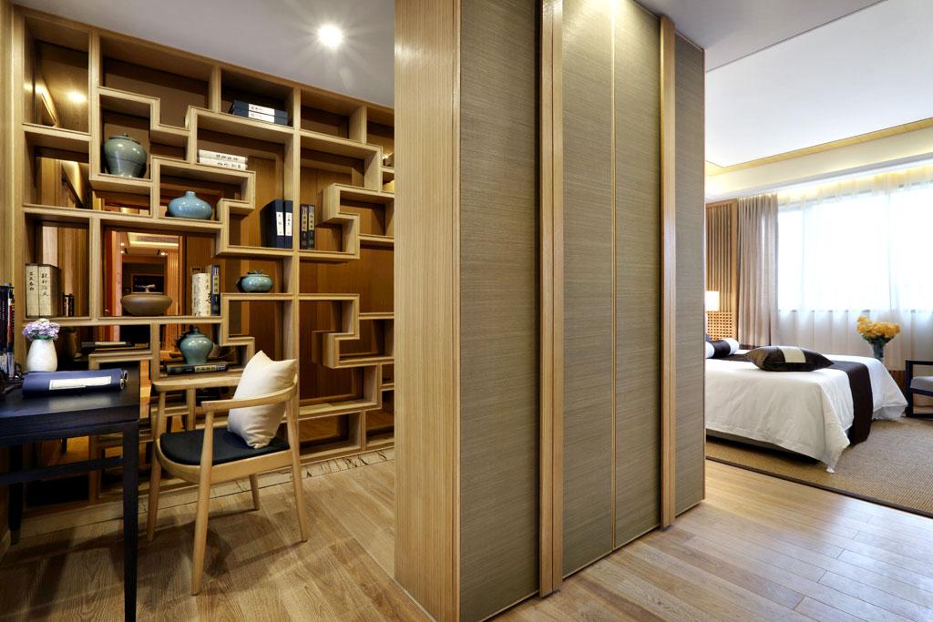 中式 四居 KSL设计 别墅 样板房 书房图片来自香港KSL设计事务所在原木清风—KSL赣州样板房设计的分享