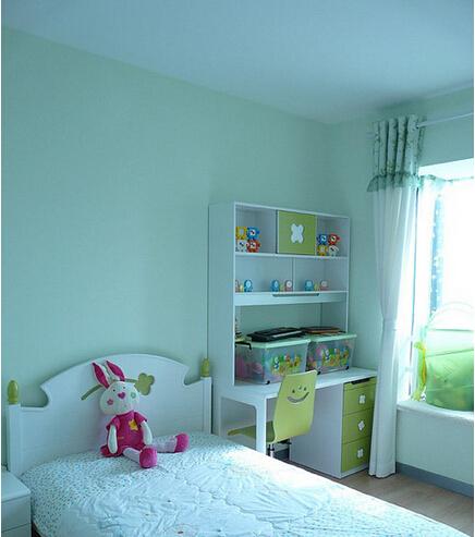 儿童房图片来自佰辰生活装饰在10万打造91平时尚清新两居的分享