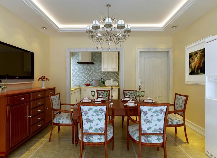 简约 欧式 三居 白领 收纳 80后 餐厅图片来自实创装饰都琳在16万打造温馨简约欧式三口之家的分享
