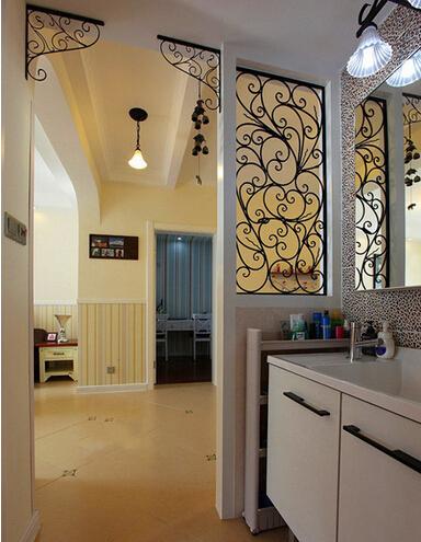 卫生间图片来自佰辰生活装饰在9万造就86平田园2居很温馨的分享