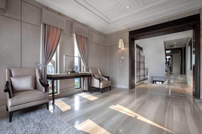 别墅 新古典设计 高雅大气 时尚温馨 80后 其他图片来自上海实创-装修设计效果图在245平新古典时尚别墅的分享