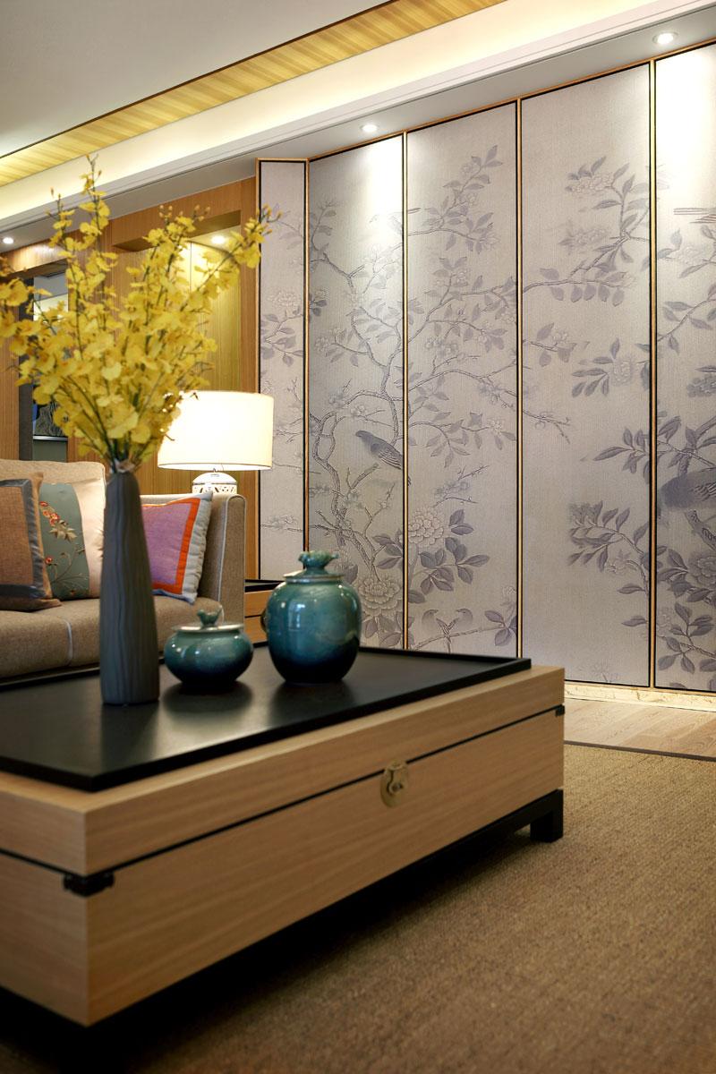 中式 四居 KSL设计 别墅 样板房 客厅图片来自香港KSL设计事务所在原木清风—KSL赣州样板房设计的分享