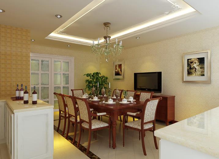 简约 欧式 三居 白领 80后 小资 收纳 餐厅图片来自实创装饰都琳在18万打造太阳宫简约欧式三口之家的分享