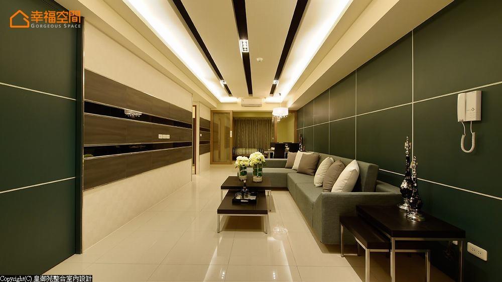 简约 现代 二居 小资 客厅图片来自幸福空间在旧家具巧妙融合 99平实用雅痞居的分享