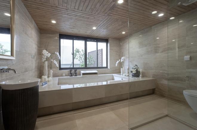 别墅 新古典设计 高雅大气 时尚温馨 80后 卫生间图片来自上海实创-装修设计效果图在245平新古典时尚别墅的分享