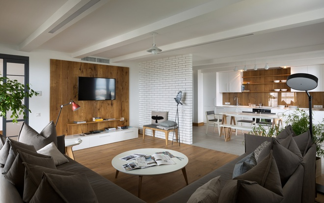 简约 三居 80后 小资 客厅图片来自上海实创-装修设计效果图在102平简约实木色精品屋的分享