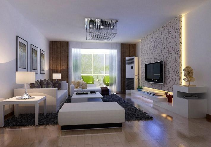 客厅图片来自亚光亚装饰在严谨的态度整洁的家的分享