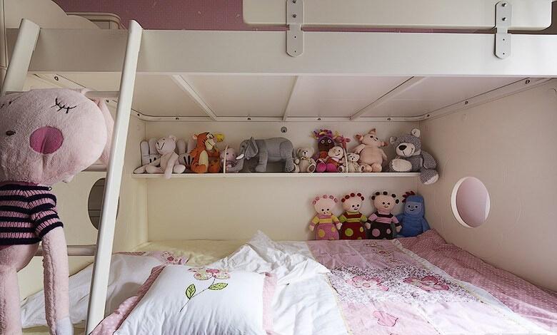 三居 美式 儿童房图片来自佰辰生活装饰在【高清】140平豪装优雅美式三居的分享