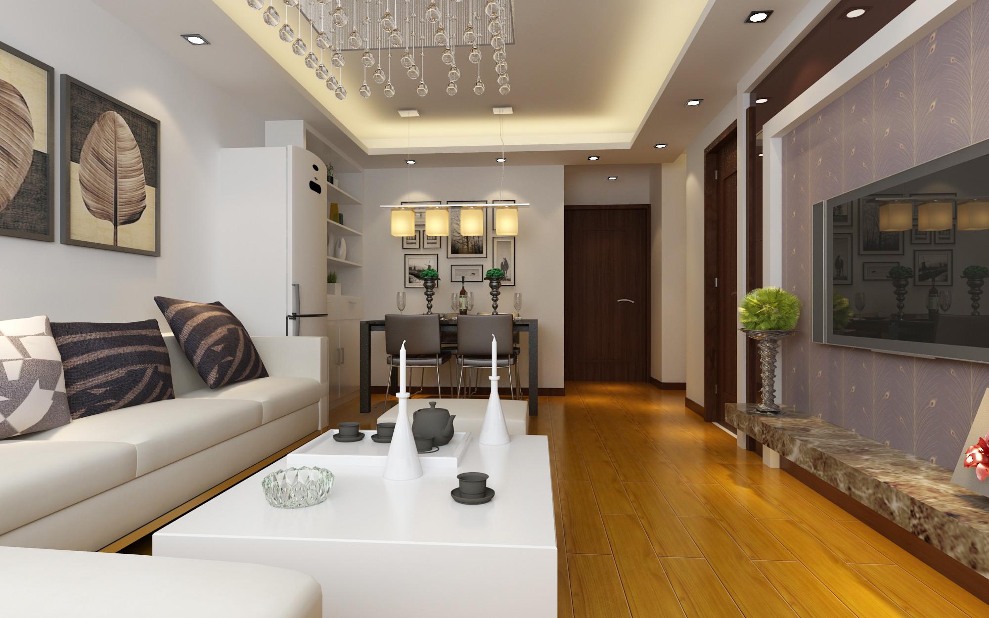 简约 二居 餐厅图片来自实创装饰上海公司在简约风格-两居室的分享