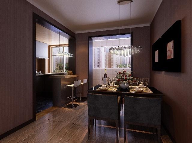 餐厅图片来自亚光亚装饰在严谨的态度整洁的家的分享