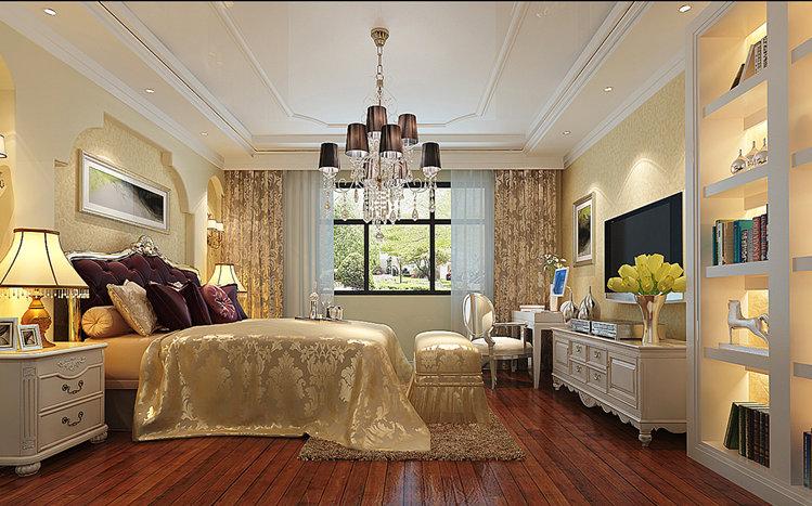 简约 混搭 别墅 白领 收纳 旧房改造 80后 小资 卧室图片来自实创装饰百灵在混搭碰撞出的惊艳美感220平米的分享