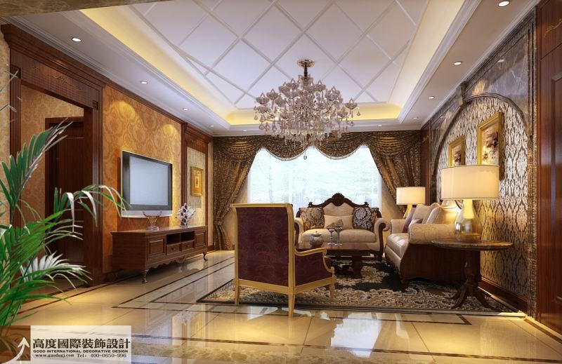 欧式 奢华 别墅 80后 小资 客厅图片来自沙漠雪雨在花盛香醍 263平欧式奢华别墅的分享