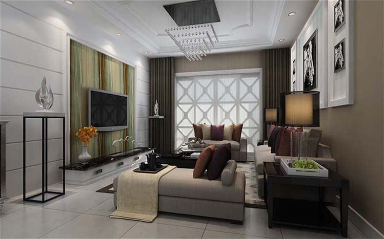 简约 三居 白领 收纳 旧房改造 80后 小资 客厅图片来自实创装饰百灵在喧嚣中的宁静装修90平米三居室的分享