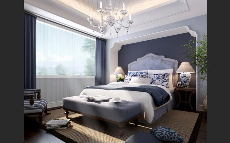 三居 卧室图片来自贾凤娇在地中海三居的分享