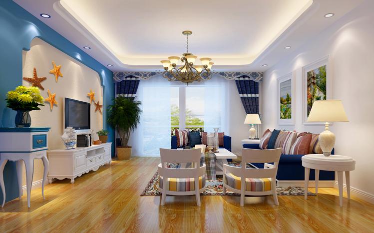 三居 客厅图片来自贾凤娇在地中海三居的分享