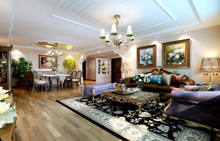 简约 三居 小资 客厅图片来自贾凤娇在美式风格的分享