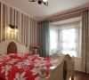 整体的卧室,最喜欢的便是卧室订制的不归则飘窗,很实用而且美观