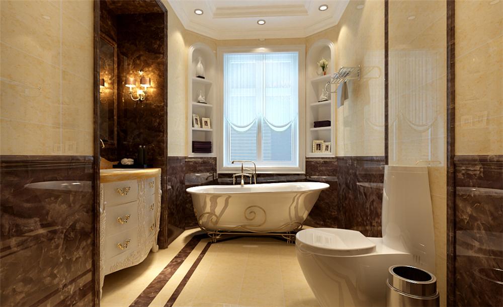 欧式 三居 白领 收纳 别墅 80后 小资 卫生间图片来自实创装饰完美家装在孔雀城欧式奢华演绎大宅精彩生活的分享