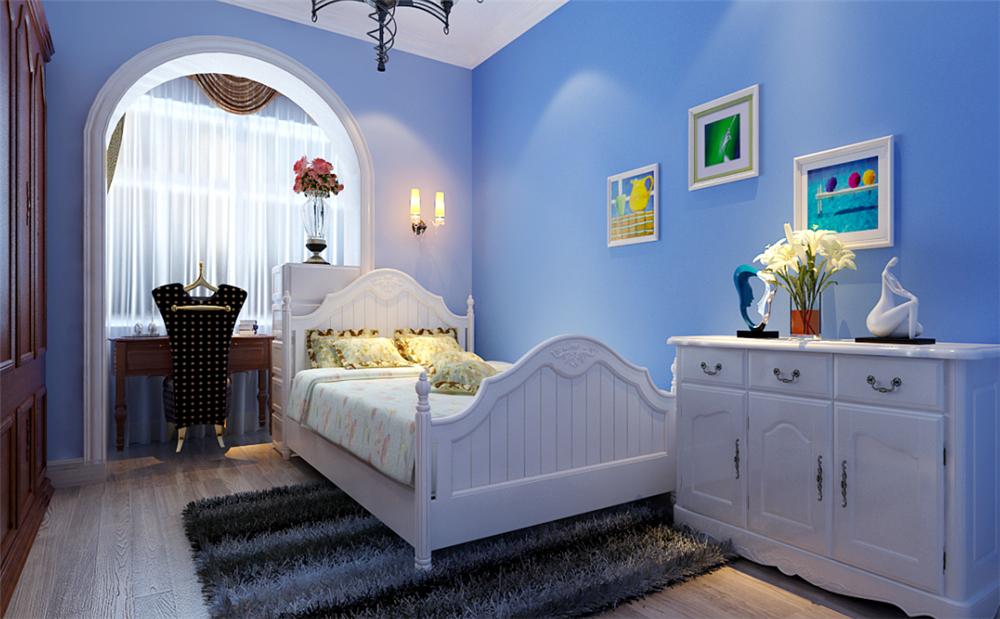 欧式 三居 白领 收纳 小资 80后 儿童房图片来自实创装饰完美家装在首城汇景湾简欧风格案例赏析的分享