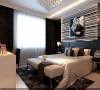 设计理念:作为婚房使用,卧室即不能走简约的风格,又不能脱离整体色调,同时还要有新婚的喜庆感。