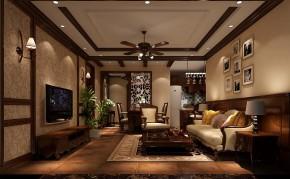简约 美式 高度国际 时尚 白富美 二居 白领 80后 海棠湾 客厅图片来自北京高度国际装饰设计在海棠湾美式88平两居的分享