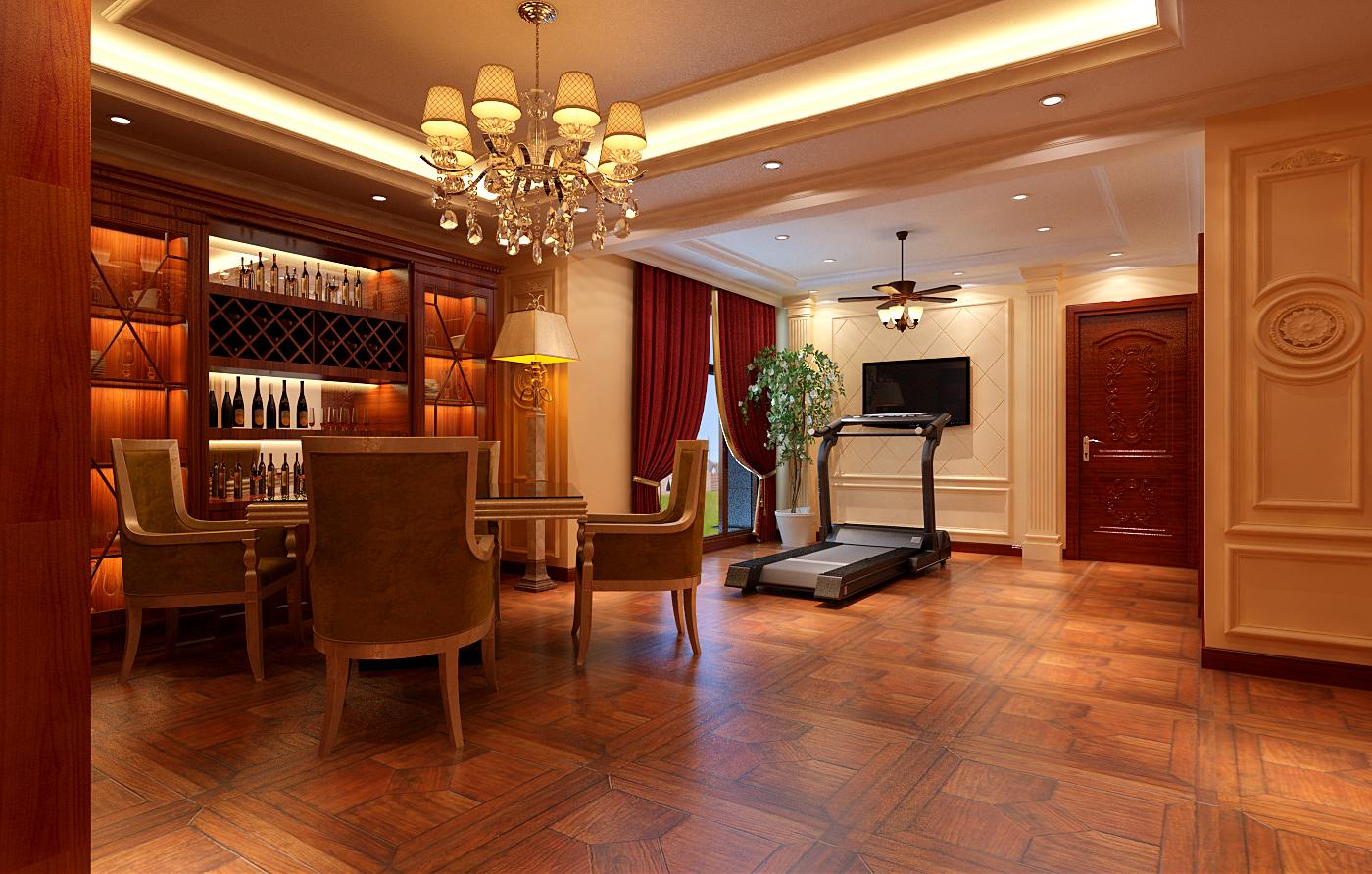 简约 欧式 别墅 白领 收纳 80后 小资 餐厅图片来自实创装饰百灵在欧郡香水城装修345平米新古典的分享