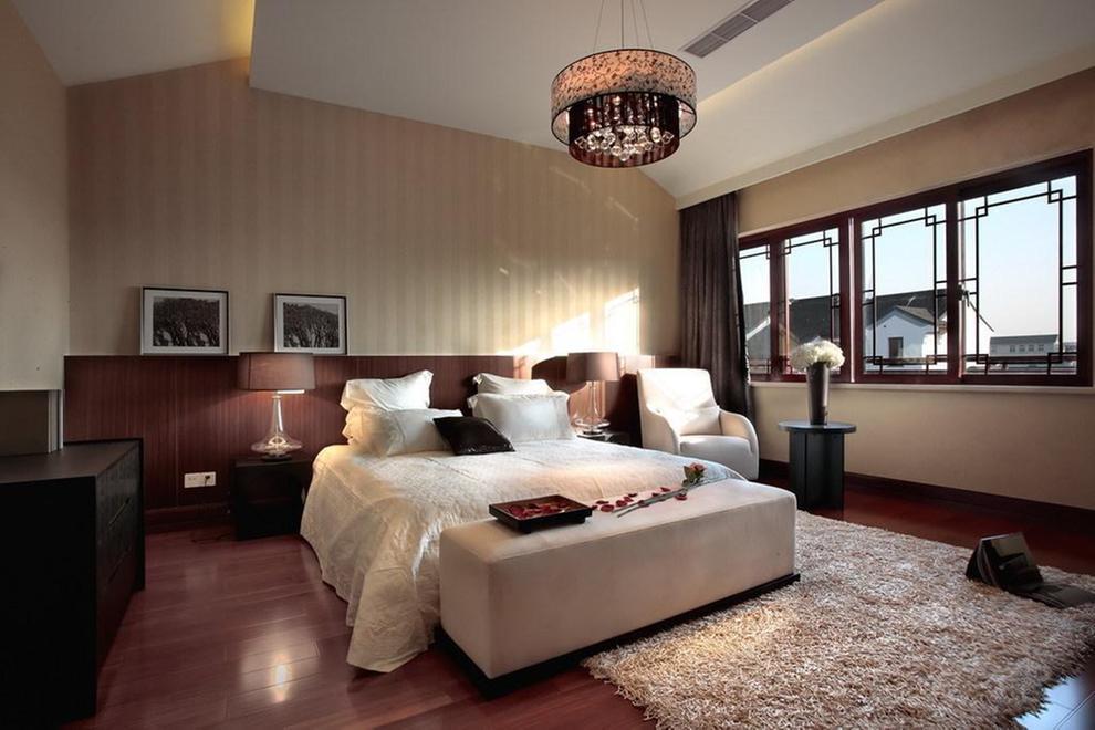 简约 混搭 别墅 卧室图片来自刘建勋在混搭别墅效果的分享