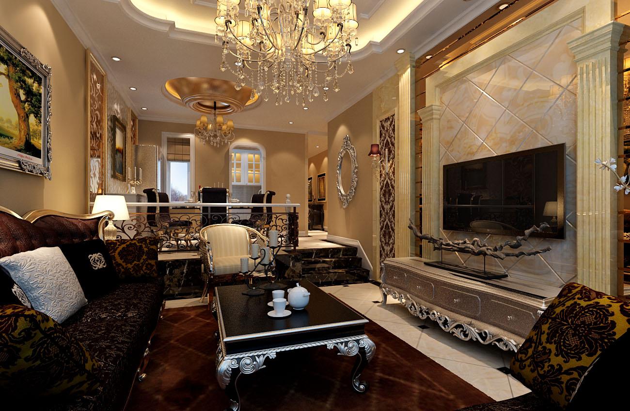 简约 欧式 二居 白领 收纳 旧房改造 80后 小资 客厅图片来自实创装饰百灵在低调奢华9.6万装修银地家园欧式的分享