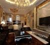 设计理念:浅咖啡色的墙面,浅黄色的石材造型,白色的顶面,深色的家具,搭配少许香槟金、银色的使用,在低调的单色世界里融合了奢华的气息。