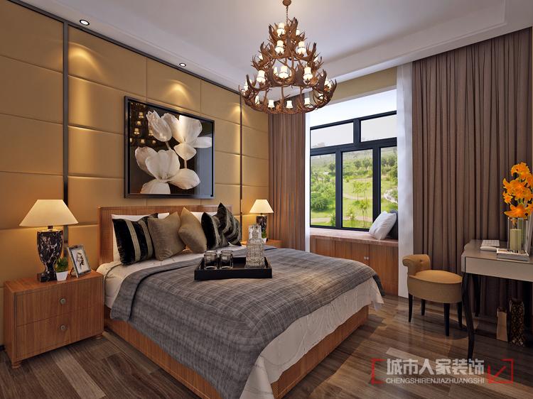 实木家具 东南亚 三居 自然 客厅 卧室图片来自西安城市人家装饰王凯在中海熙岸原汁原味东南亚风格的分享