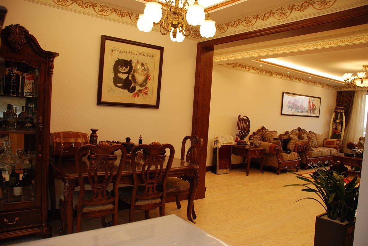 餐厅图片来自武汉实创装饰在剑走偏锋,中年业主的写意生活的分享
