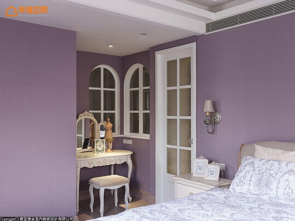 别墅 三居 田园 休闲 卧室图片来自幸福空间在旧别墅变活泼  132平异国风乡居的分享