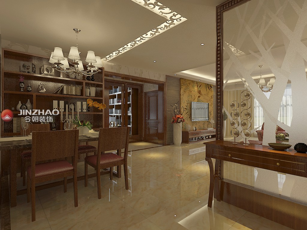 三居 餐厅图片来自152xxxx4841在怡和中馨城177平的分享