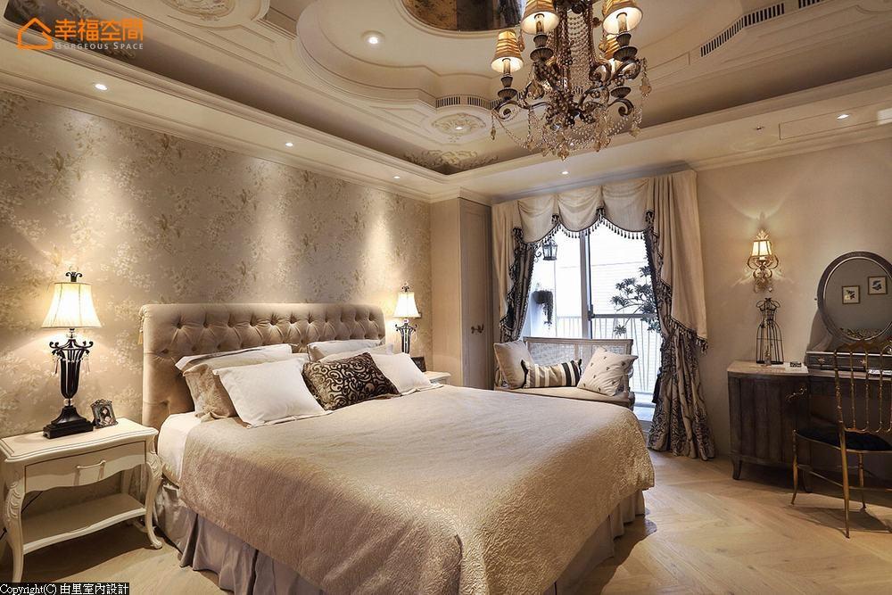 二居 别墅 乡村风格 卧室图片来自幸福空间在bonjour! 享受99平法式沙龙美宅的分享