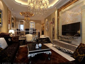 新发地银地家园106平米欧式两居
